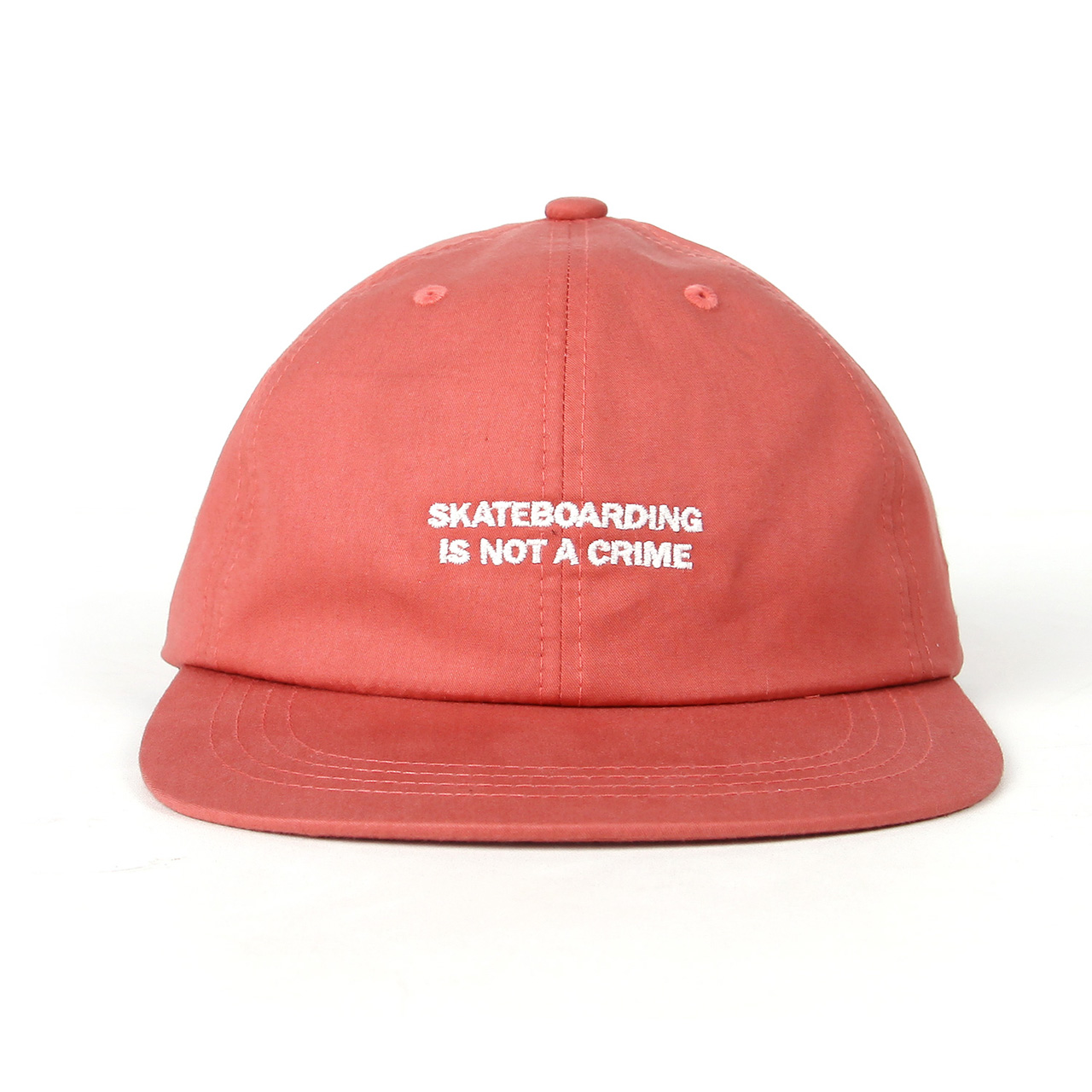 SKATEBOARDING CAP-ORANGE