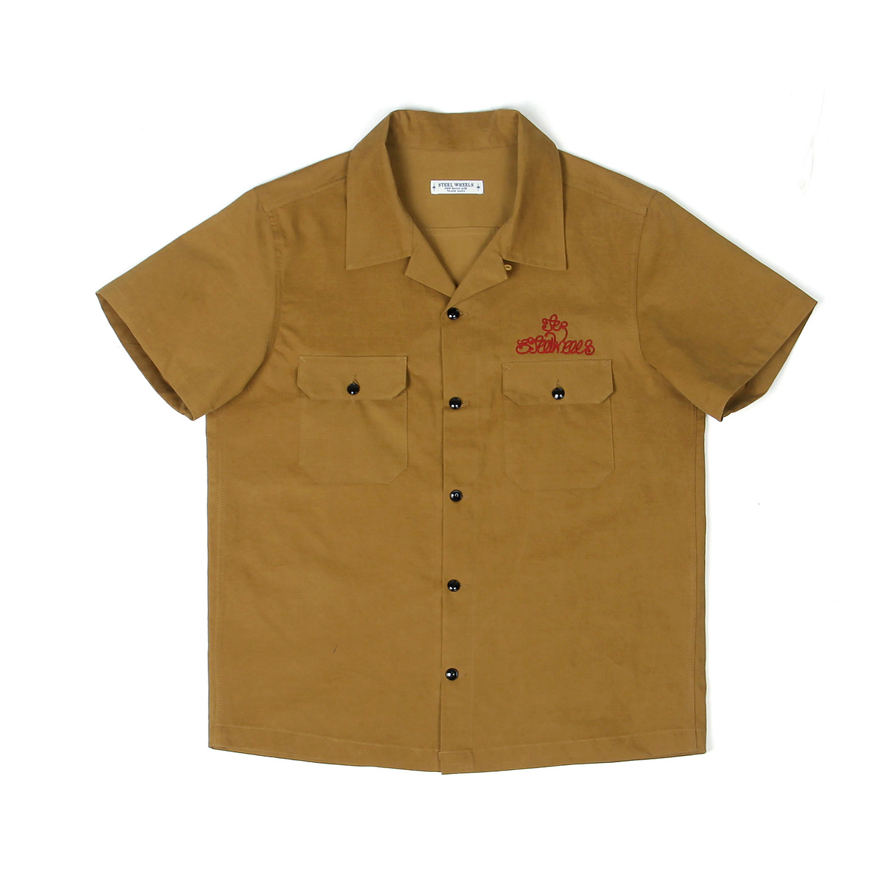 STEELWHEELS SHIRT-MUSTARD