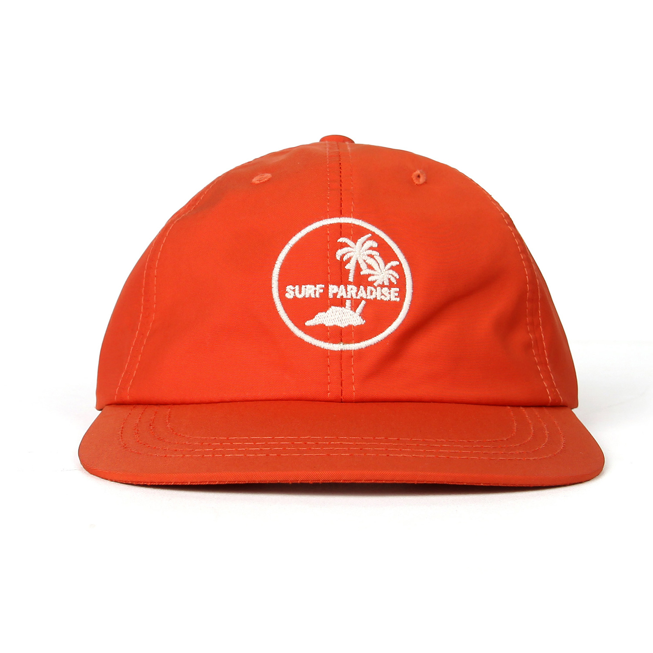 SURF PARADISE CAP-ORANGE