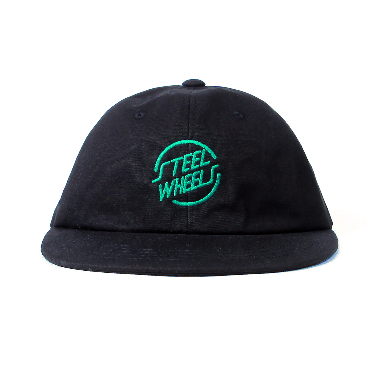 STEELWHEELS SKATEBOARDER CAP-BLACK