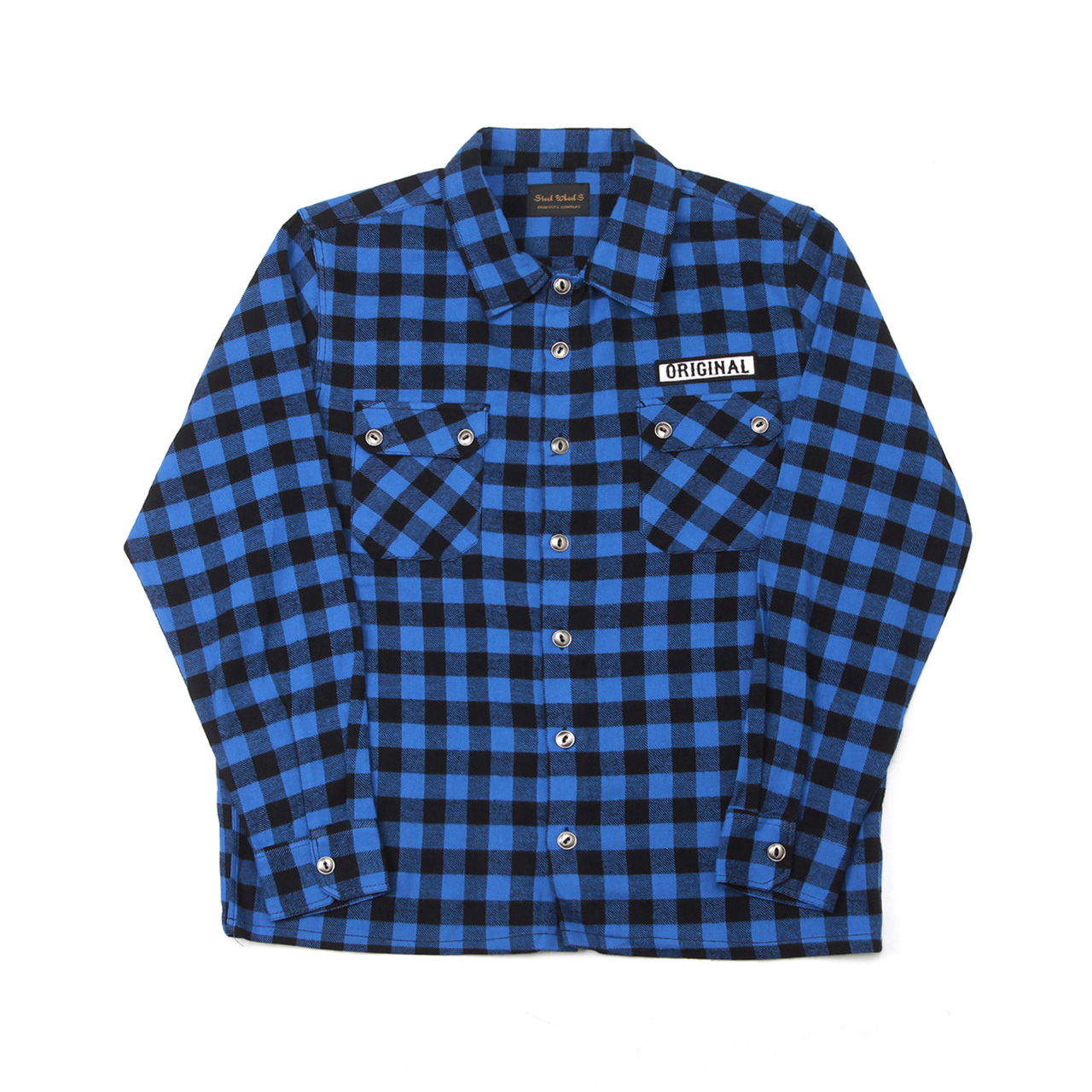 ORIGINAL FLANNEL SHIRT-BLUE