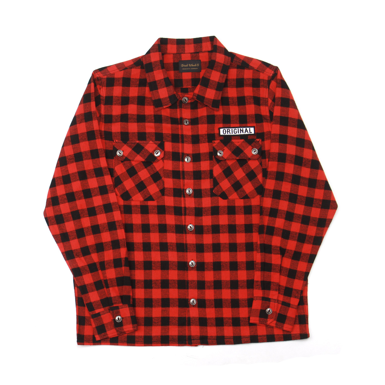 ORIGINAL FLANNEL SHIRT-RED