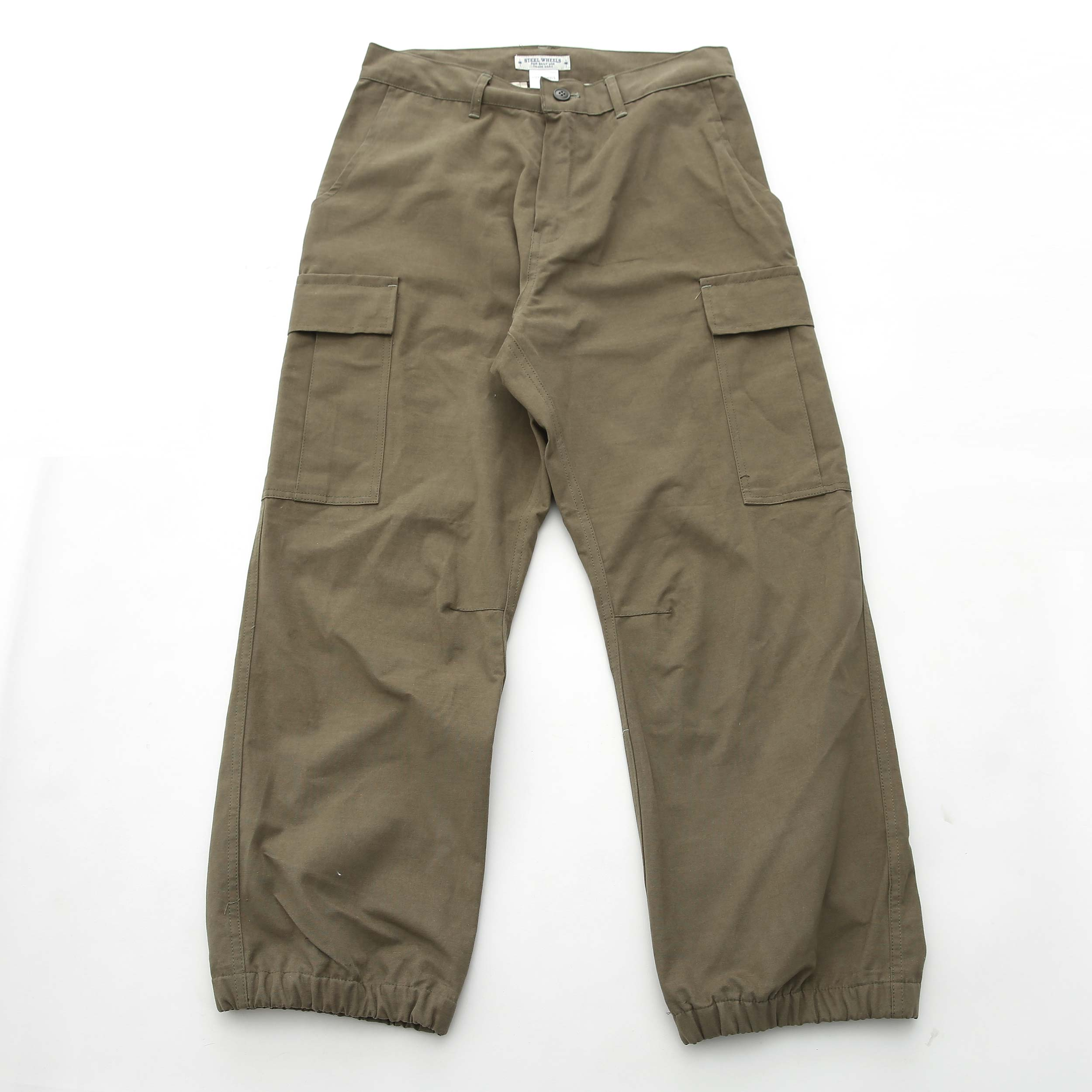 CARGO JOGGER PANTS (OLIVE)