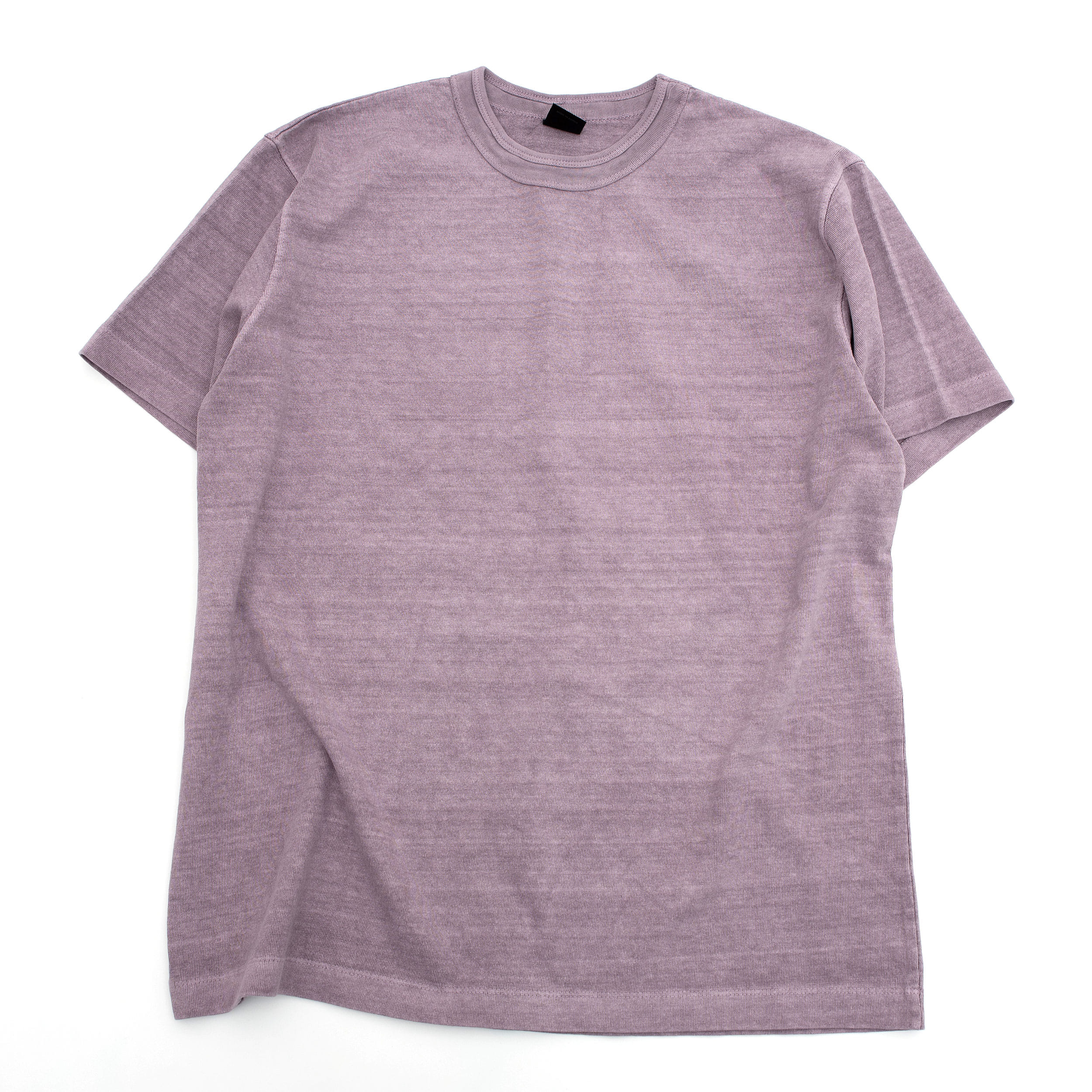 SUMMER DYED BASIC T SHIRT (PURPLE)