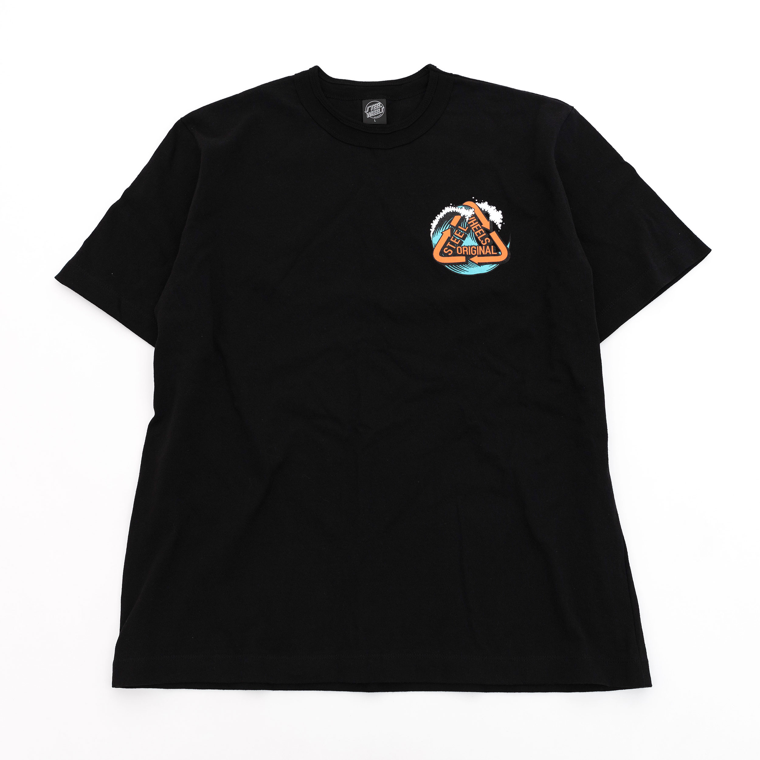 PERFECT WAVE T SHIRT (BLACK)