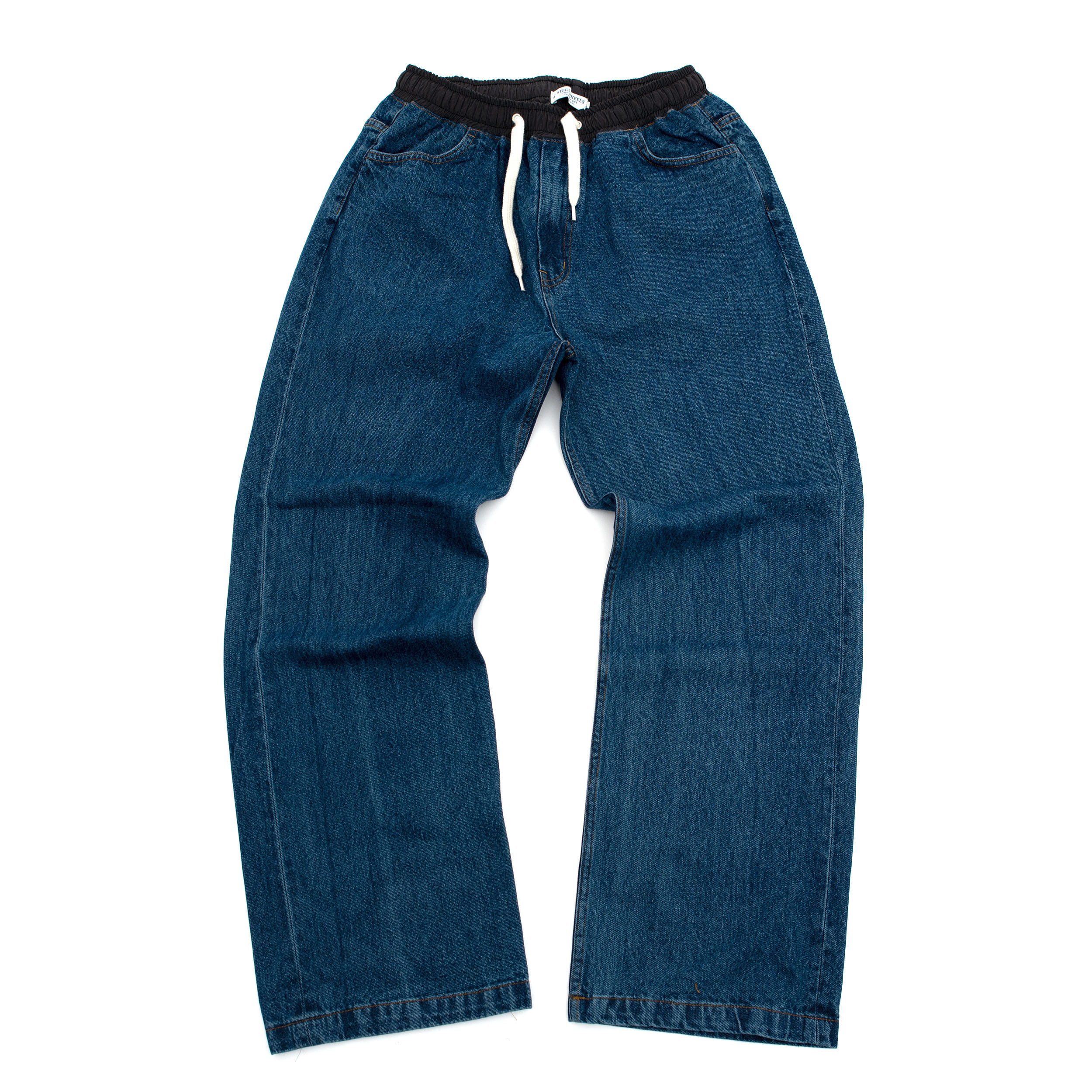 EASY INDIGO DENIM PANTS