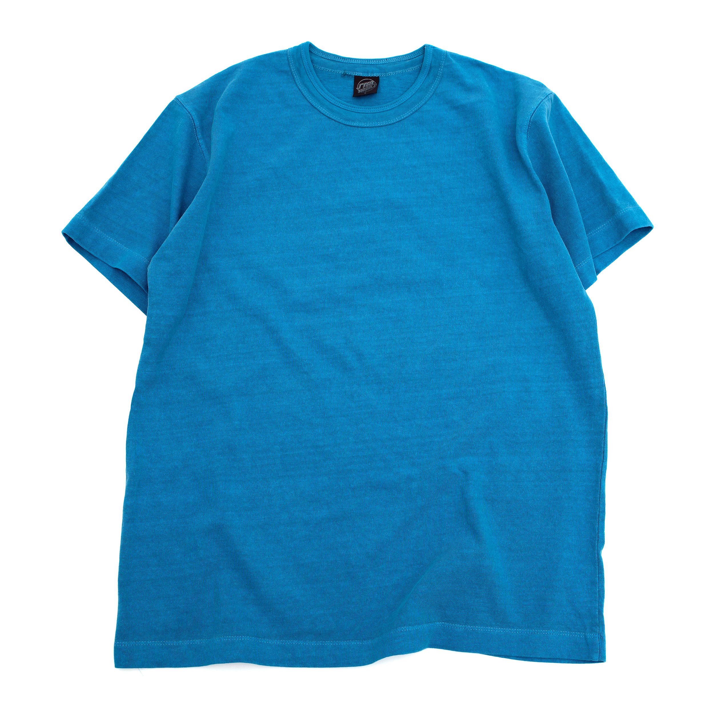 SUMMER DYED BASIC T SHIRT (BLUE)