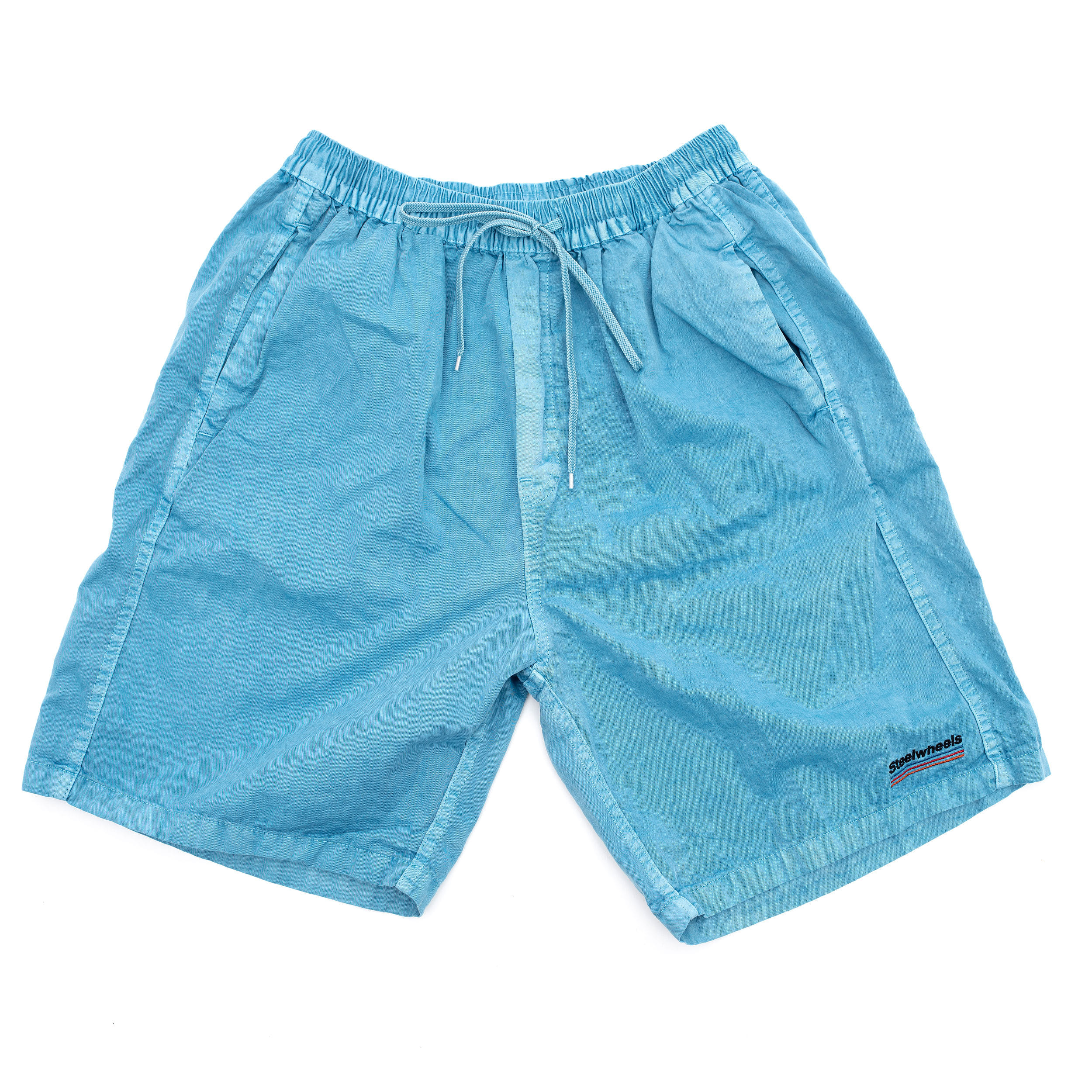 SUMMER DYED SHORTS (SKY BLUE)