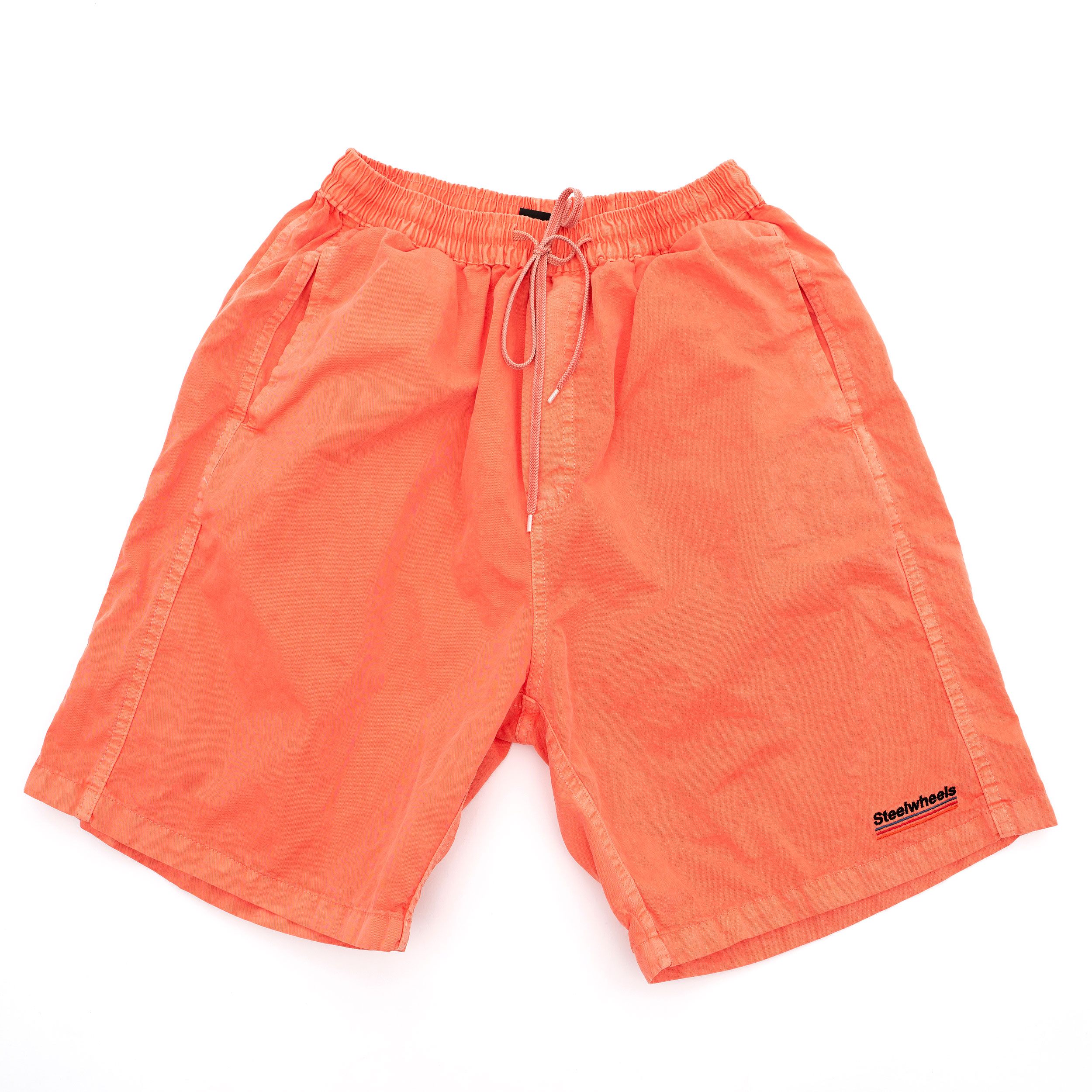 SUMMER DYED SHORTS (ORANGE)