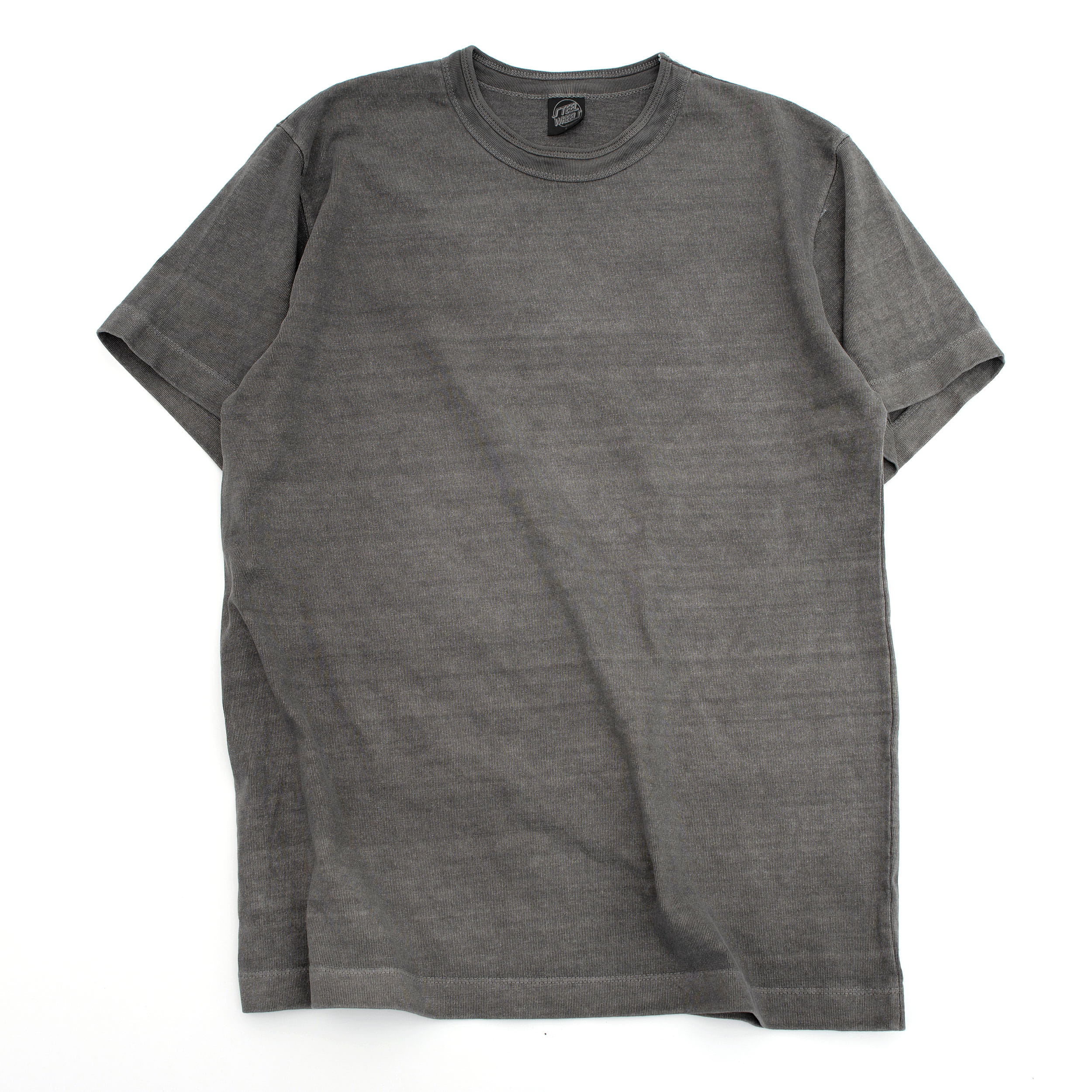 SUMMER DYED BASIC T SHIRT (GRAY)
